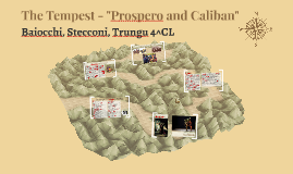 """The Tempest - """"Prospero and Caliban"""""""