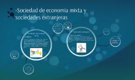 -Sociedad de economía mixta y sociedades extranjeras