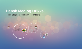 Copy of Danish Food and Drinks