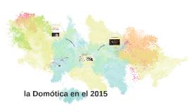 la Domótica en el 2015