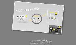 Sound Pressure vs. Time
