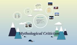 Myth Criticism