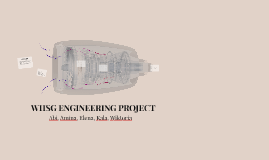 WHSG ENGINEERING PROJECT