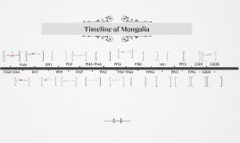 Timeline of Mongolia