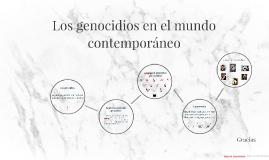 Copy of Los genocidios en el mundo contemporáneo