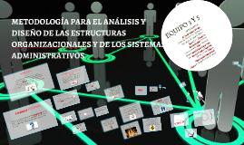 Copy of Copy of Copy of METODOLOGÍA PARA EL ANÁLISIS Y DISEÑO DE LAS ESTRUCTURAS ORG