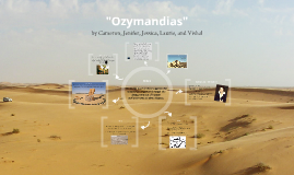 Copy of Ozymandias