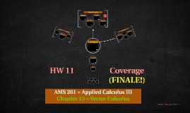 AMS 261 (HW 11 Coverage) FINALE!