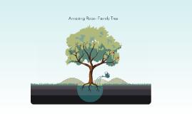 Amazing Race- Family Tree