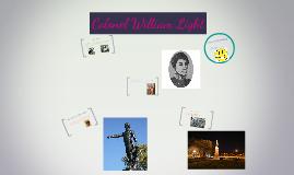 Copy of Colonel William Light