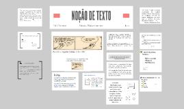 Copy of NOÇÃO DE TEXTO