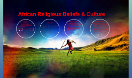 Copy of African Religion Beliefs & Culture