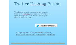 Twitter Hashtag Button