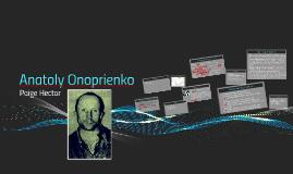 Anatoly Onoprienko