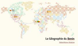 La Géographie du Benin