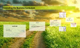Extending the Business Curriculum