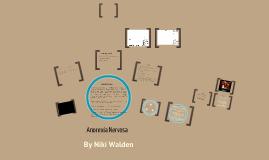 Anorexia Nervosa by Niki Walden