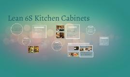 Lean 6S Kitchen Cabinets