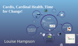 Cordis, Cardinal Health. Time for Change!