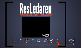 ResLedaren: Universell design --> innovation