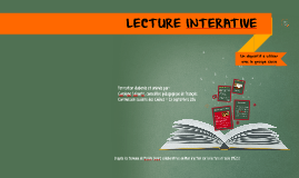 Lecture interactive - 23 septembre 2016