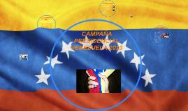 CAMPAÑA PRESIDENCIAL VENEZUELA 2013