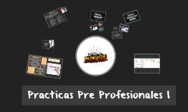 Practicas Pre Profesionales I