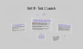 Unit 10- Task 2 Launch