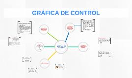 GRÁFICA DE CONTROL