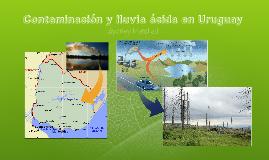 Contaminación y lluvia ácida en Uruguay