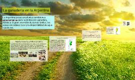 La ganadería en la Argentina
