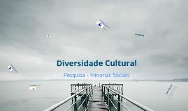 Pesquisa - Minorias Sociais