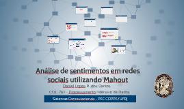 PID - Analise de sentimentos em redes sociais utilizando Mahout