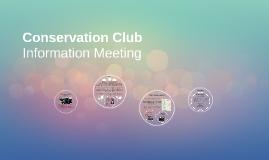 Conservation Club