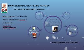 "UNIVERSIDAD LAICA ""ELOY ALFARO"""