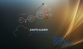 Dante Aligieri PROJEKT