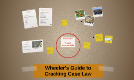 Wheeler's Guide to Cracking Case Law