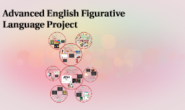 Advanced English Figurative Language Project