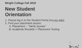 Copy of New Student Orientation, Fall 2019 (New Portal)