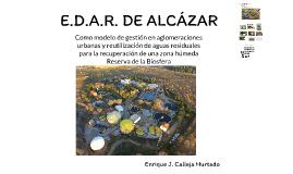 E.D.A.R. DE ALCÁZAR
