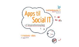 Apps til social IT