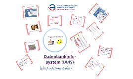 Datenbankinfosystem - Wie funktioniert das?