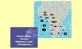 African Music: Thomas Mapfumo