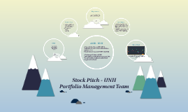 Stock Pitch - UNH
