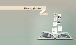 Temas y fuentes en Cumbres Borrascosas