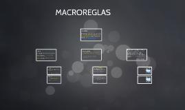 MACROREGLAS