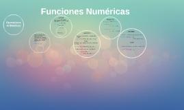 Funciones Numéricas