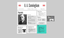 A. A. Cunningham