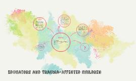 Educators and Trauma-Affected Children