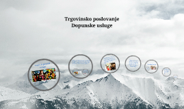 Copy of Trgovinsko poslovanje